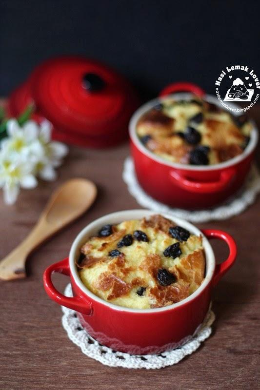 Nasi Lemak Lover: Brioche bread pudding 布里歐修麵包布丁