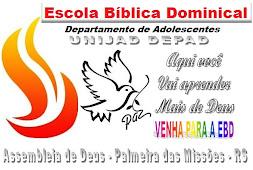 ESCOLA BÍBLICA DOMINCAL