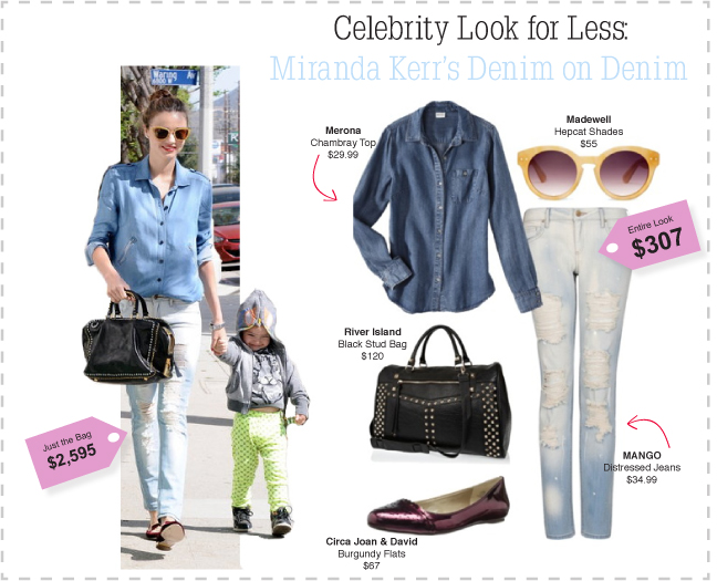 Miranda Kerr Celebrity Look For Less