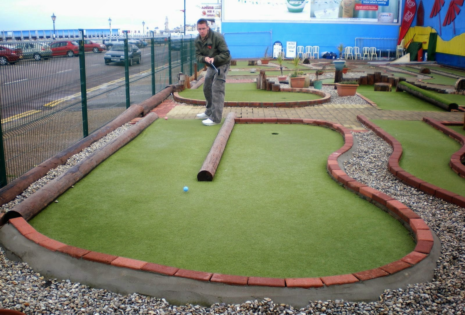 Herne Bay Mini Golf course in Kent