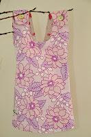 Pippi forklekjole, kan brukes på begge sider. Fra 250 kr