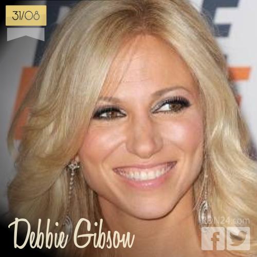 31 de agosto | Debbie Gibson - @DebbieGibson | Info + vídeos