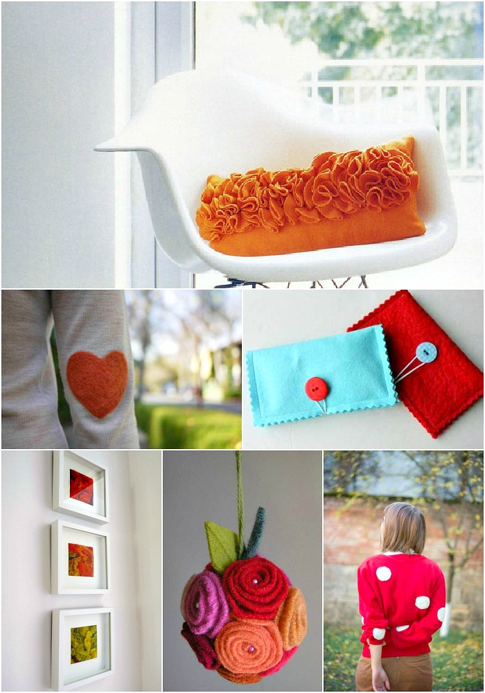 Felted wool project ideas