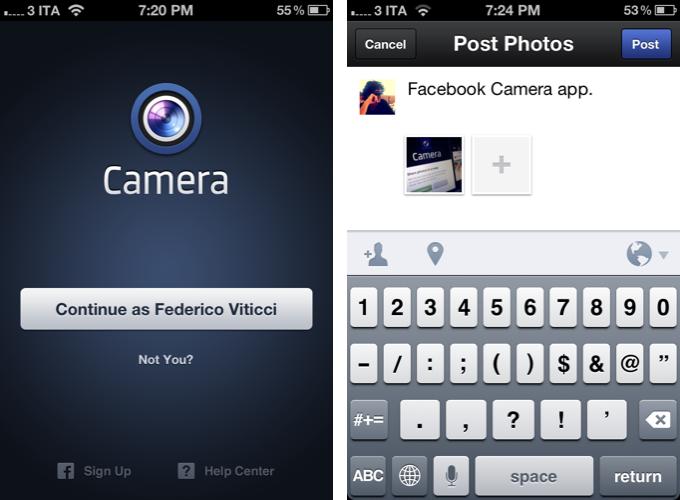 Inilah Informasi Lengkap Aplikasi Facebook Camera