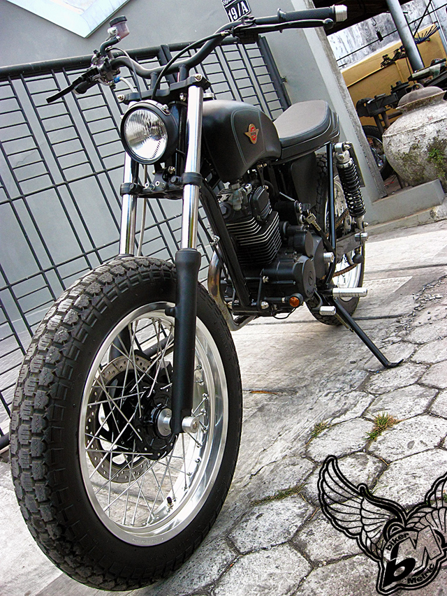 honda gl200 tracker - front | daiztdesign