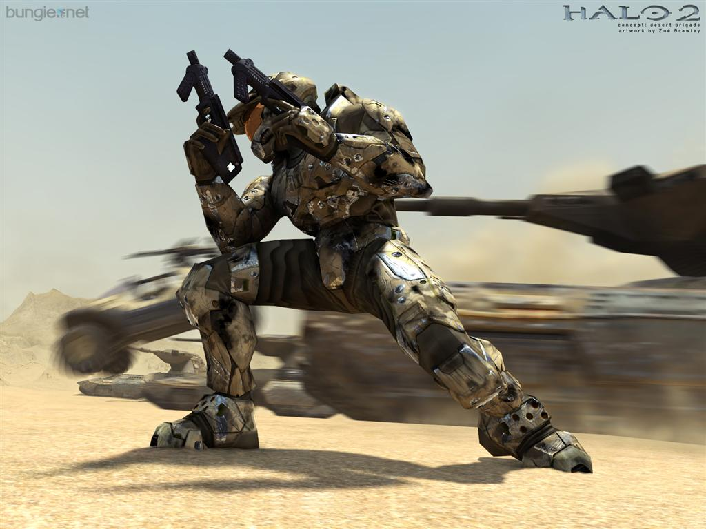 Halo HD & Widescreen Wallpaper 0.332967408022105