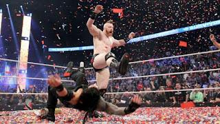 WWE - Sheamus y su maletín aguó la fiesta de Roman Reigns en Survivor Series