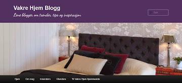 Titt også innom Vakre Hjem Blogg. Lene blogger ukentlig om trender, tips og inspirasjon