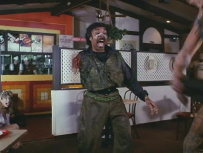 Frank without an arm in the Toxic Avenger
