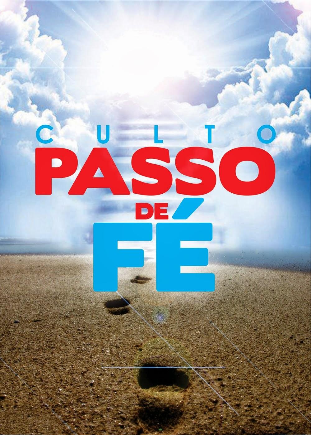 PASSO DE FÉ