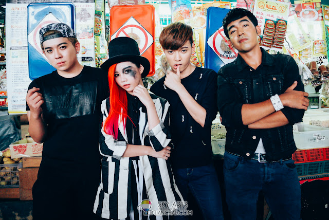 Hotlink K-POP Academy Students Casting in BIGBANG MV Shoot [L-R] Jimmy Tan, May Ng, Alex Ho, Khairul Najmuddin (Erul)