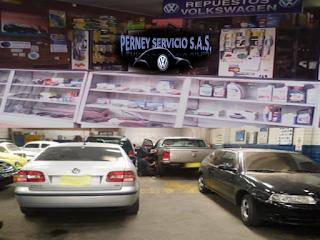 Taller vw - Perney Servicio