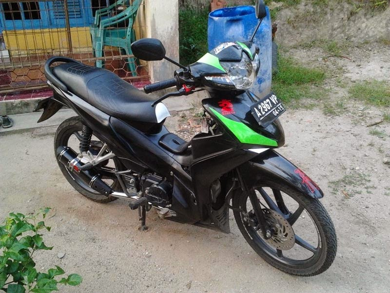modifikasi honda revo 110 cc