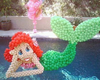 The Little Mermaid Children Parties Decoration