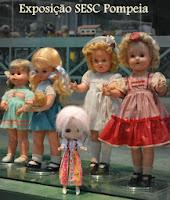 SESC - Exposição Mais de Mil brinquedos para Criança Brasileira