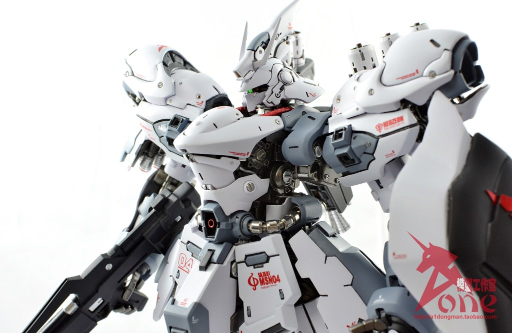 Gundam Model Kit White Paint Gloss
