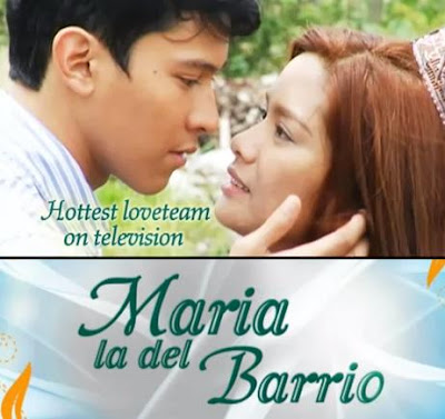 Erich Gonzales and Enchong Dee in Maria la del Barrio
