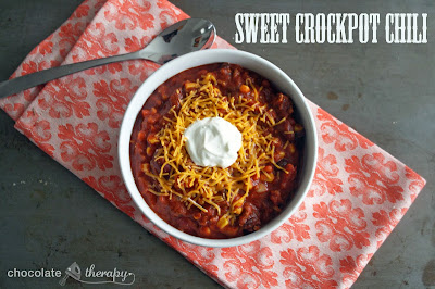 Cold Weather Crockpot Chili