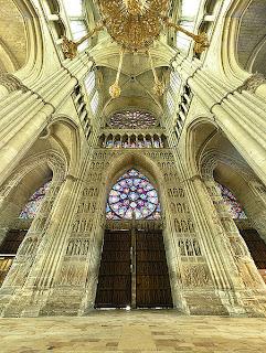 interni cattedrale Reims