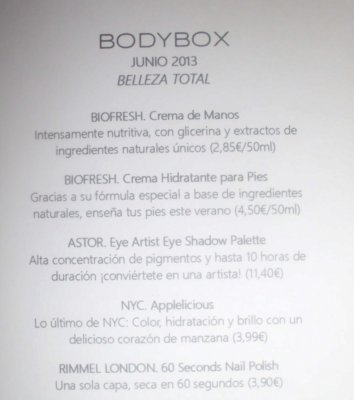 contenido bodybox