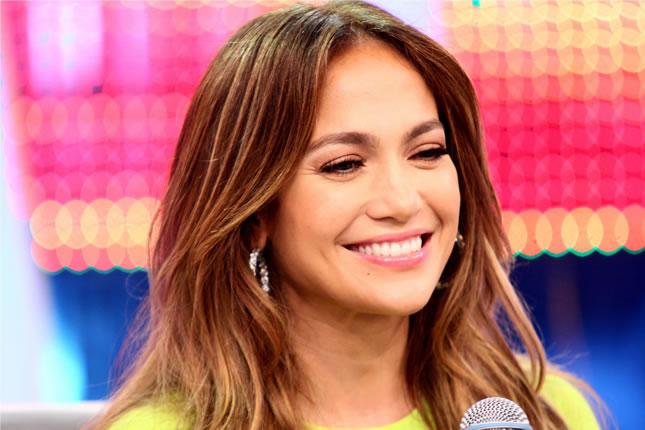 Jennifer Lopez no 'Melhor do Brasil' da TV Record (Foto: Reprodução/Record)
