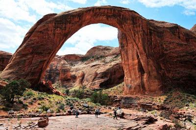Ponte natural Arco Íris – Utah