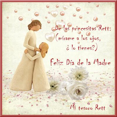 Feliz día de la madre, síndrome de rett