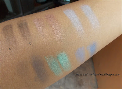 Nicka K New York Perfect 32 Colors Eye Shadow Palette swatches