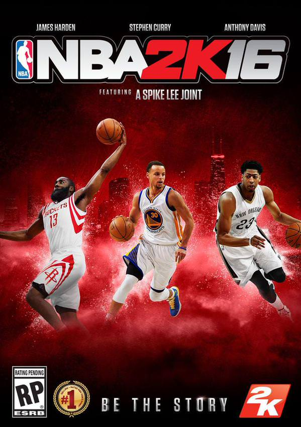 #NBA2K16 Official Cover : Anthony Davis, Stephen Curry & James Harden To Be On The Cover