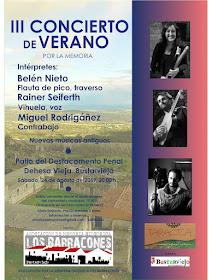 III Concierto de verano por la memoria en Bustarviejo