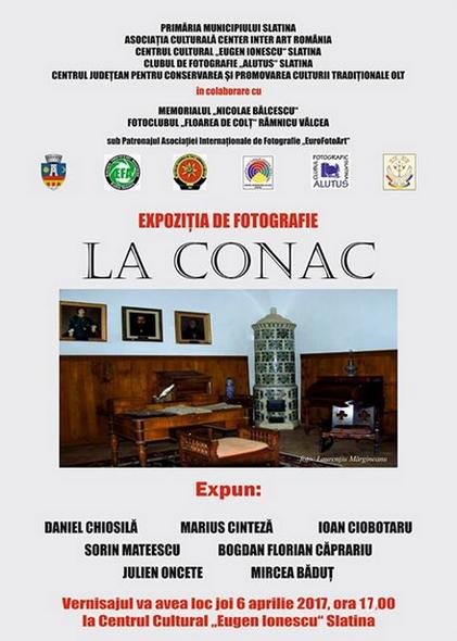 Expoziția LA CONAC la Slatina