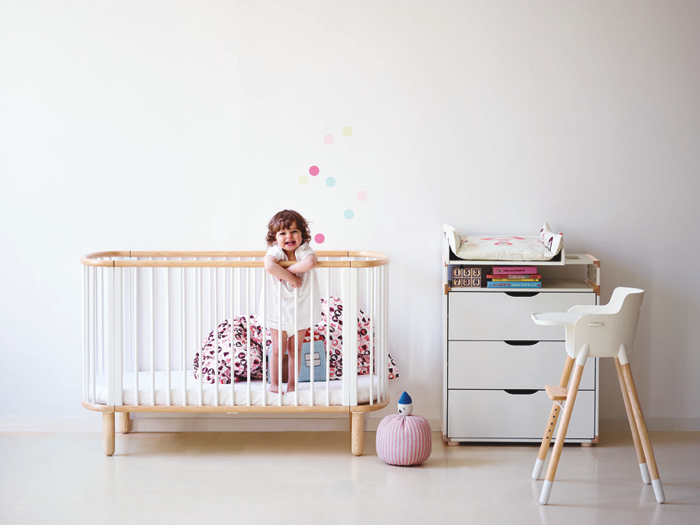 flexa crib- Danish furniture for kids
