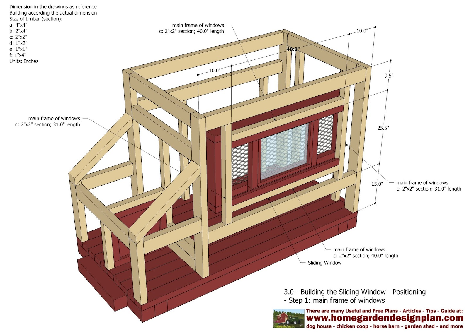 Home garden plans t100 chicken coop tractor plans for Free coop plans