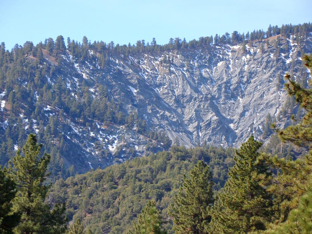 Wrightwood Elevation : Geotripper the other california that slope won t be a