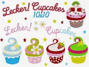 ♥ Lecker! Cupcakes♥10x10