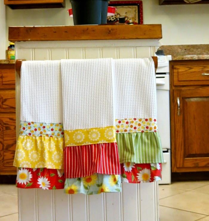 Как оформить вафельное полотенце в подарок своими руками 59