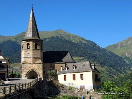 Iglesia Gausac, Romanico Valle Aran