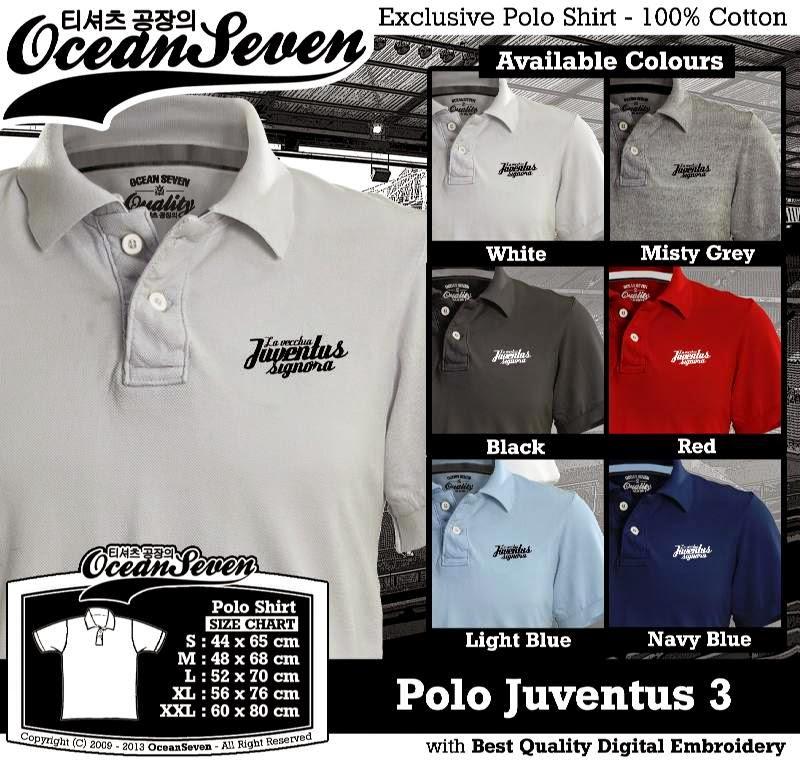 Kaos Polo Juventus 3