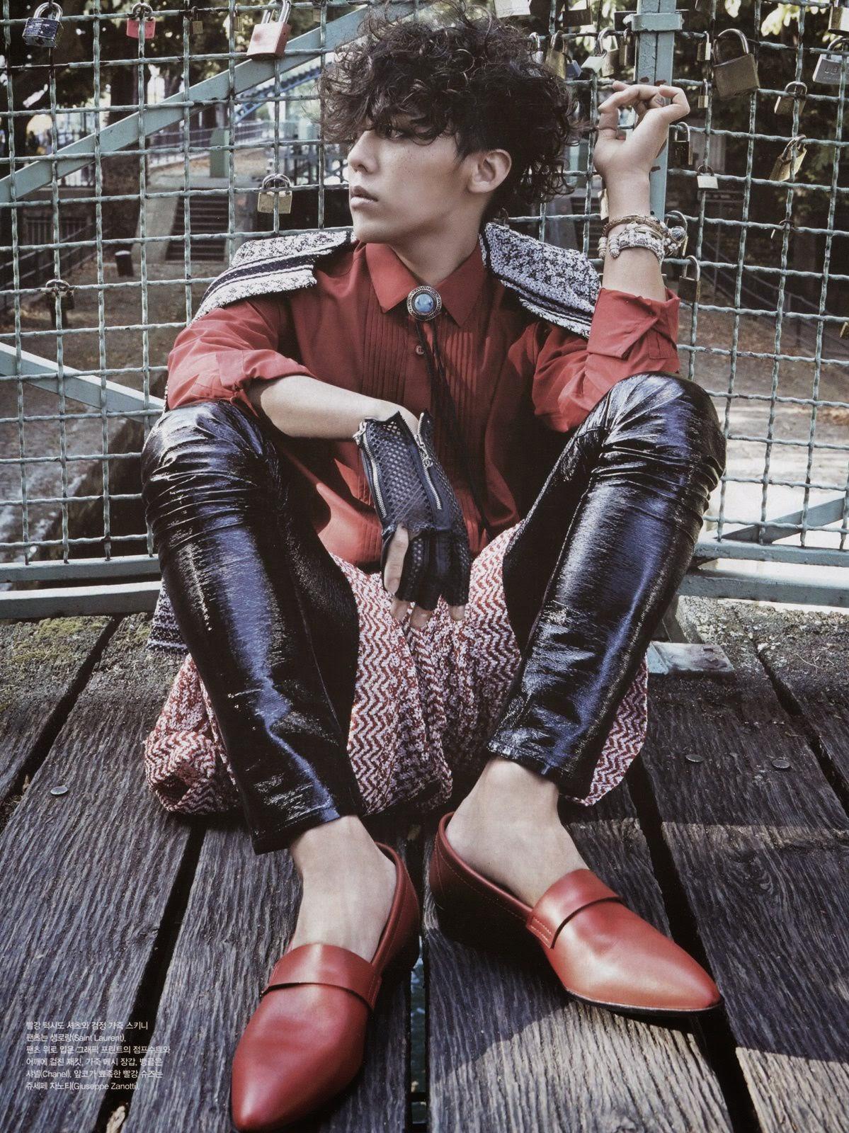 Scans: G-Dragon for Vogue Korea (January 2015) [PHOTOS]  Scans: G-Dragon for Vogue Korea (January 2015) [PHOTOS]  Scans: G-Dragon for Vogue Korea (January 2015) [PHOTOS]