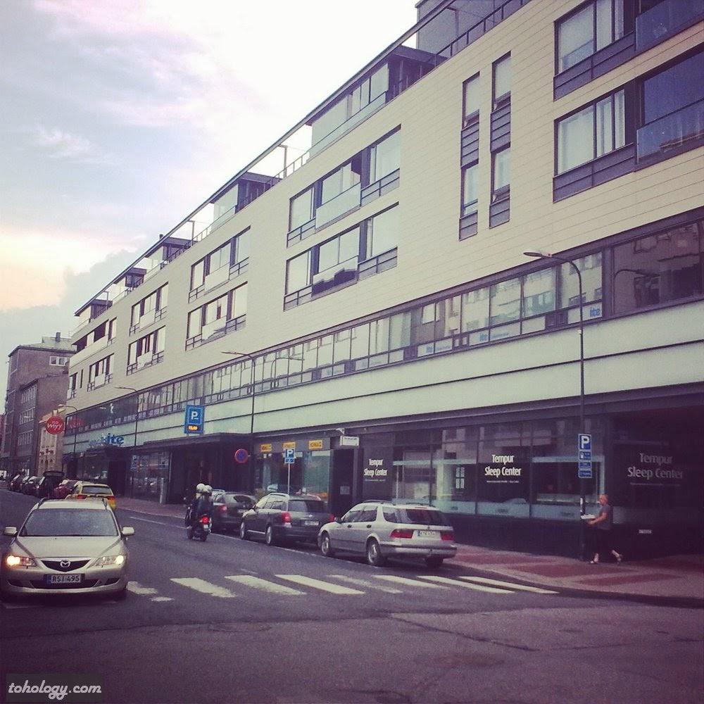 City center area