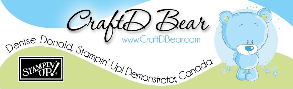 CraftD Bear