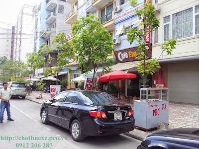 Cho thuê xe Toyota Altis 4 chỗ tại Hà Nội