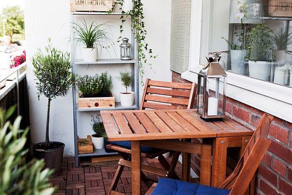 Terrazas y balcones decorar tu casa es - Decoracion balcones pequenos ...