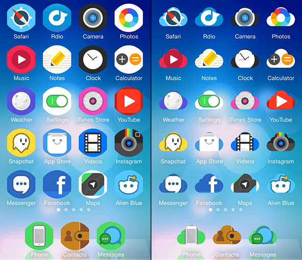 New Winterboard theme for iOS 7 available for free on ModMyi repo on Cydia. It works for iPhone, iPad and iPod touch. Let's check it out.