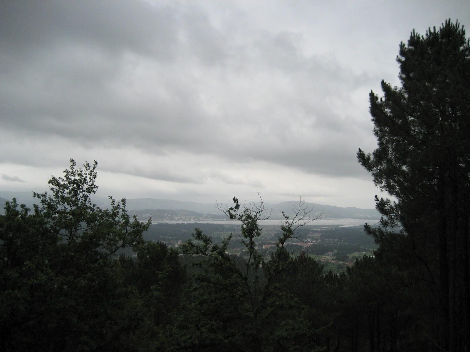 Vistas en la ruta de O Folón y Picón