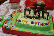 PASTELES FIESTA ANGRY BIRDS.