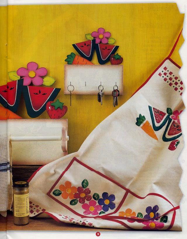 Manualidades para la cocina y ba o revistas de for Manualidades para la cocina