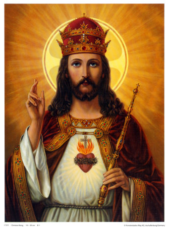 is christ the king of the angels even in his humanity