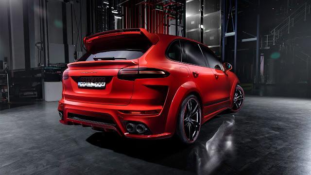 2015 Techart Porsche Cayenne  Magnum 4