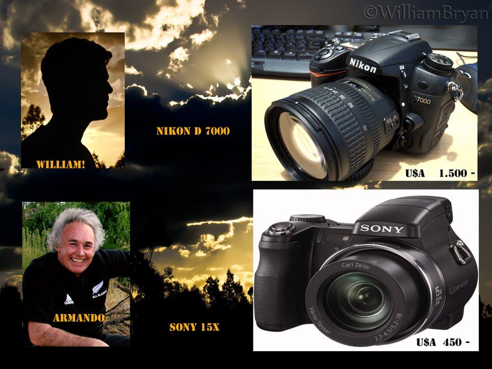 NUESTRAS CAMARAS FOTOGRAFICAS, SONY 15 X  Y NIKON D 7000